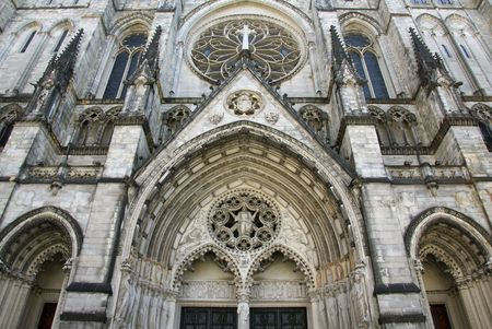 The Ccathedral Church of Saint John the Divine in New York city photo