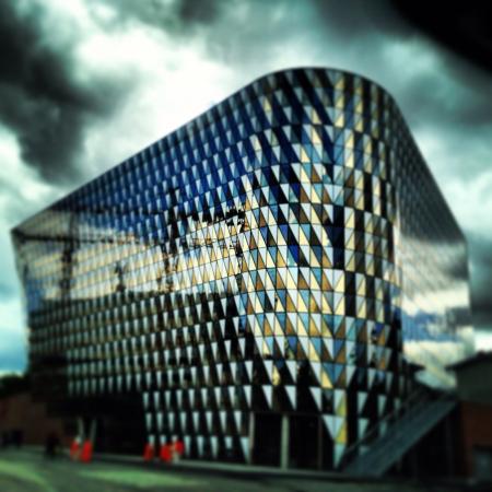 solna: Karolinska Institutet. Solna Sweden. Stock Photo