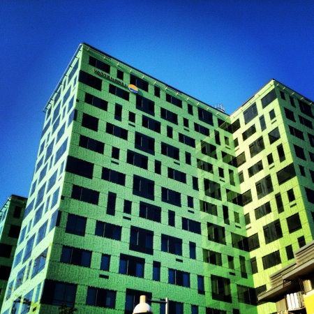 solna: Vattenfall. Head office Solna. Sweden. Stock Photo