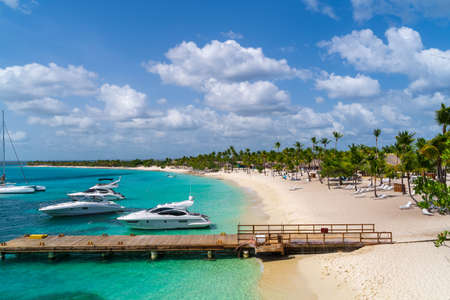 View of Harbor at Catalina Island in Dominican Republic