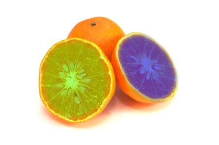 Result of genetic modification to oranges Zdjęcie Seryjne