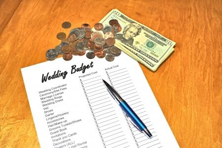Concept afbeelding opslaan voor een bruiloft
