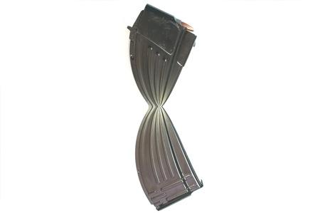 30 Round magazine cut in half representing ammunition restrictions