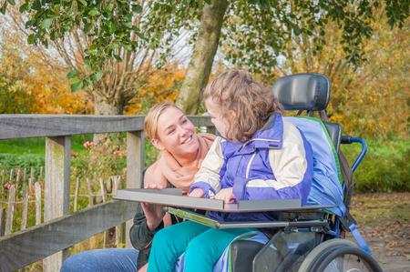 Trabajando juntos con discapacidad