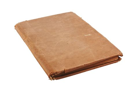 knowhow: Old book isolated