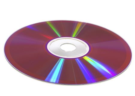 Burned cdr disk Stock Photo - 419616