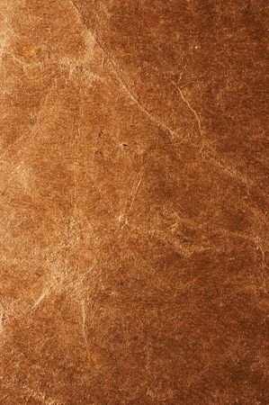 wornout: Old brown paper closeup texture