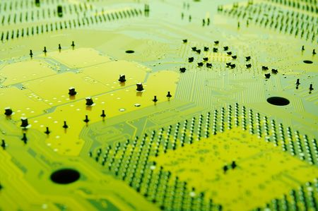 itc: printed circuit board Stock Photo