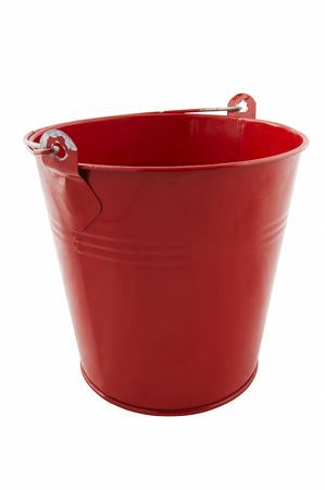 red tin bucket Stock Photo - 426284