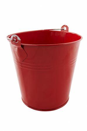 red tin bucket photo