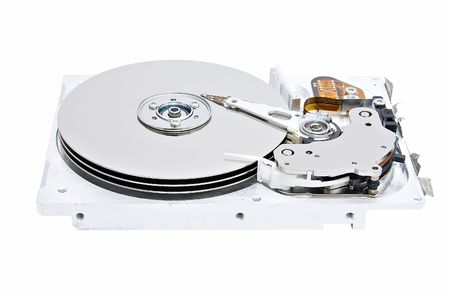 fixed disk: Opened hard disk