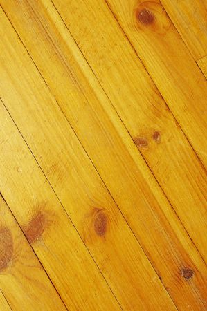 wornout: wooden floor texture background with yellow tint Stock Photo