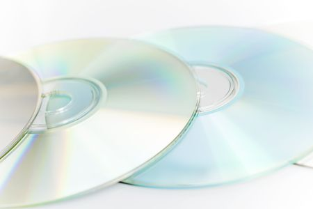 Abstract digital disc background (cd cdr and dvd)