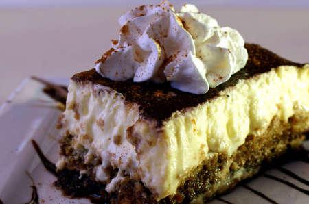 Tiramisu - Rich custard and coffee soaked bakery  Imagens