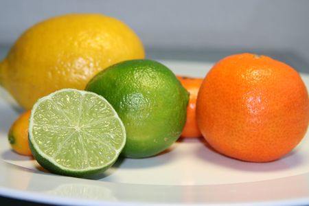 citrus family: citrus fruits
