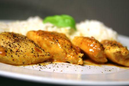 chicken curry: Curry-Huhn Lizenzfreie Bilder