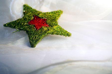 str: christmas decoration str Stock Photo