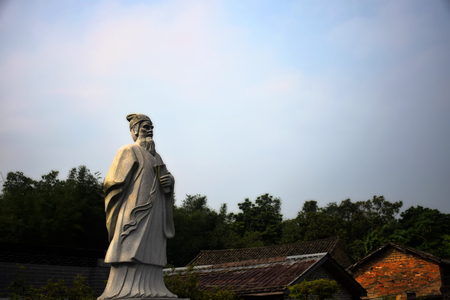 dongpo: Su Dongpo statue Stock Photo