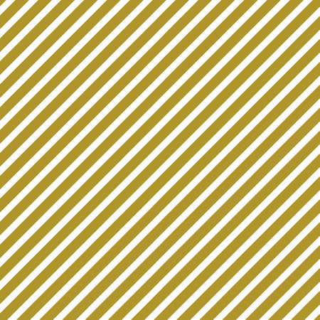 ordered: Golden and white stripes diagonally in a square format Stock Photo