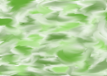 landscape format: Background painted in different shades of green in a landscape format Stock Photo