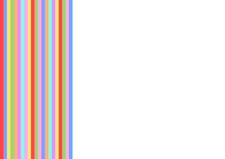 textfield: Colorful vertical stripes on the left side and with large white copy space to the right