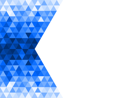 textfield: Triangles in gradient from dark to light blue.
