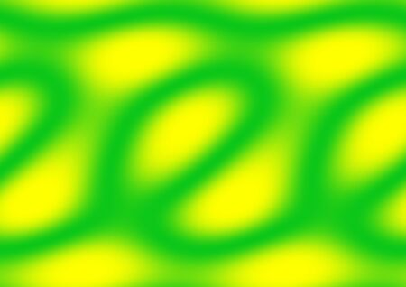 Background painted with gradients in bold yellow and green in a landscape format