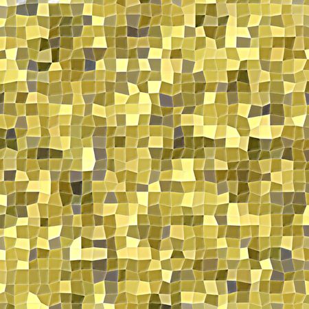 Mosaic of irregular squares in different gold tones in square format Imagens