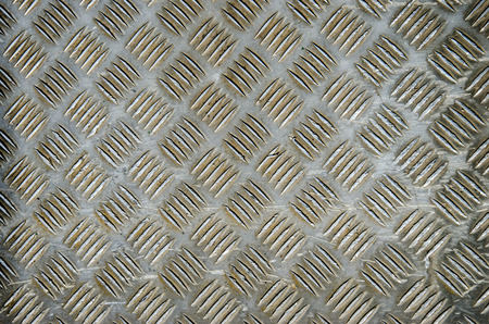 diamond plate: A metal diamond plate