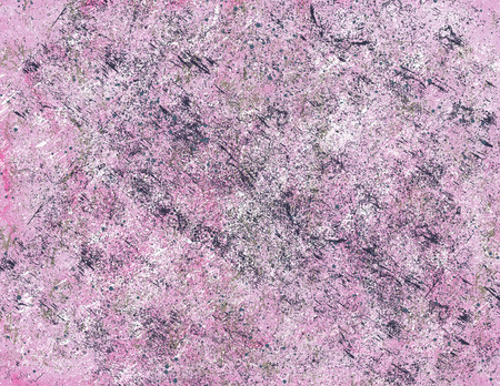A dirty pink background with blobs