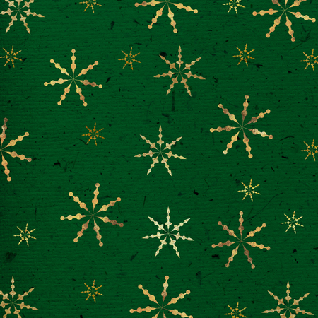 christmas time: Colored paper-texture with snowflakes for Christmas time. Stock Photo