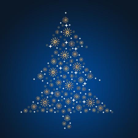 A christmas fir as a symbol for the christmasholidays Standard-Bild