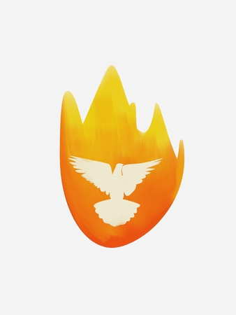Flame and Dove