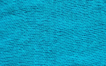 texture blue knitted