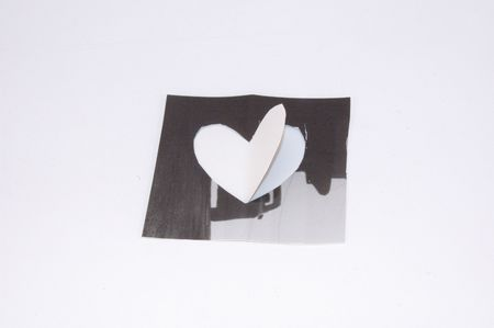 heart and inside the paper good looking and hand mate material marriage