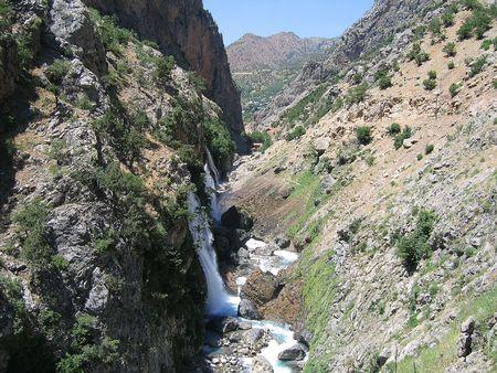 Kapuzbasi waterfall