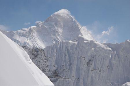 the summit of nepal hymalayas