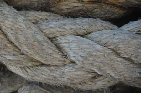 big piese of rope
