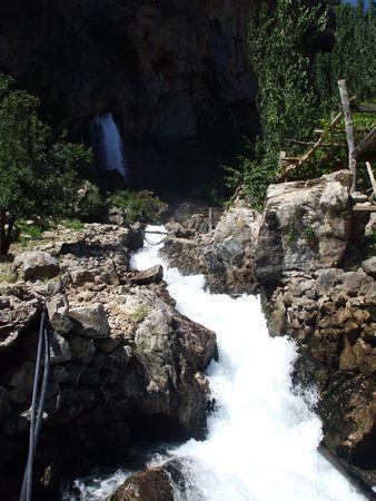 good looking super waterfall  kapuzbasi  kayseri