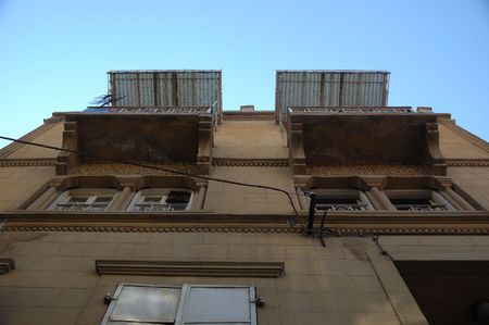 Old Panjours And Balcony