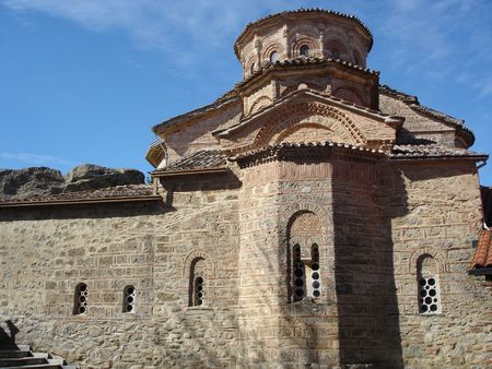 One of the 6 meteore church in greece