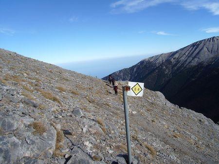 olympos mountain climbing in greece