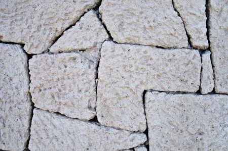 Cracked Limestone wall texture
