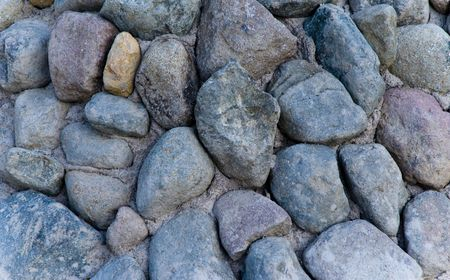 amorphous: Close up of pebbles as a background