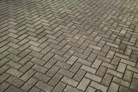 rectangle and crossed concrete bricks