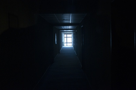 Light by the end of Dark Aisle