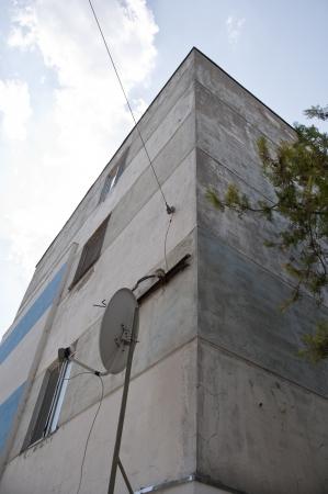 Old apartment socialist style  in macin romania Stock Photo - 17266676