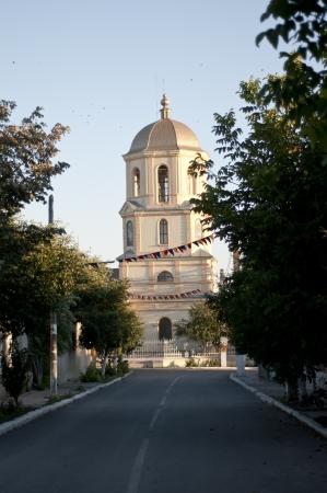 Old Lipovans Orthodox Church in Jurilovca Village  Romania Stock Photo