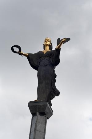 Sophia the Martyr statue in sofia Bulgaria