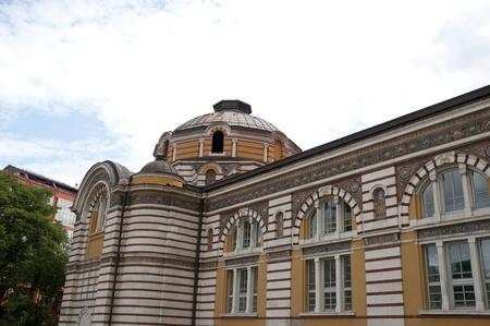 Old Public Bath hamam building center in sofia bulgaria